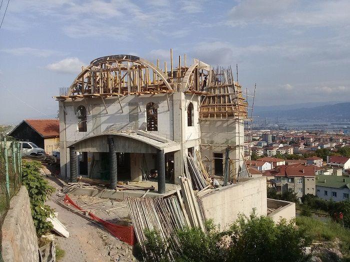 Cami inşaatı